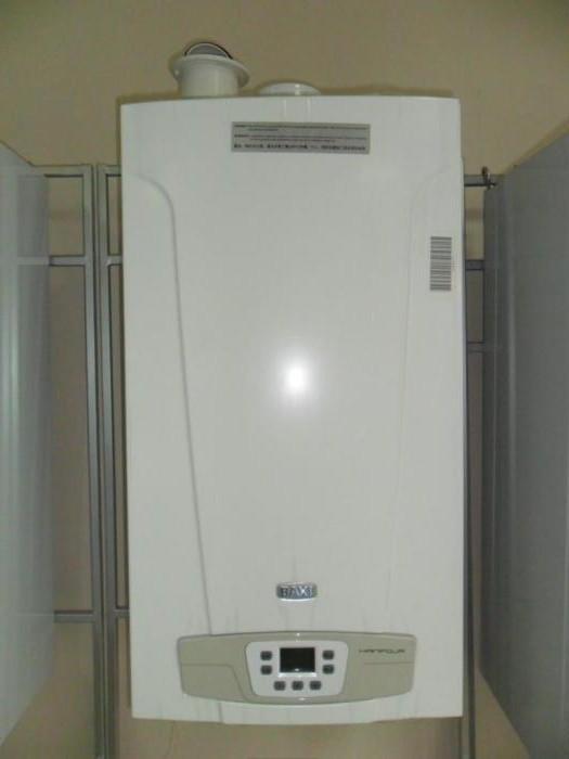Установка настенного котла бакси экофор 24 квт